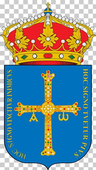 Oviedo Gijón Coat Of Arms Of Asturias Escutcheon Victory Cross PNG