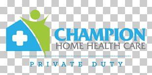 Champion Home Health Care Logo Brand Organization PNG