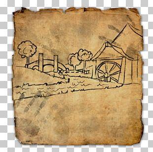 Elder Scrolls Online: Clockwork City The Elder Scrolls II: Daggerfall The Elder Scrolls Online PlayStation 4 Treasure Map PNG
