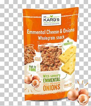 Breakfast Cereal Crispbread Emmental Cheese Whole Grain Snack PNG