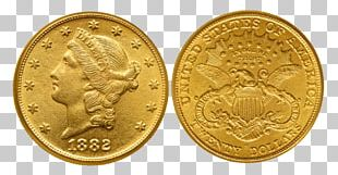 Gold Coin Coin Collecting Double Eagle Half Eagle PNG