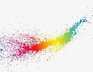 Dream Color Splash PNG