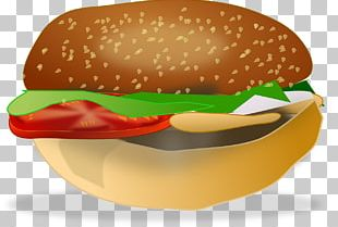 Hamburger Veggie Burger Cheeseburger Chicken Sandwich Fast Food PNG