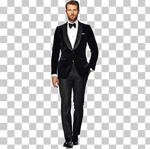 Suitsupply Tuxedo Lapel Trousers PNG
