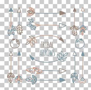 Tribe Arrow Euclidean Icon PNG