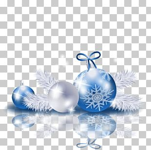 New Year Christmas Ornament PNG