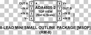 Document Datasheet Integrated Circuits & Chips Operational Amplifier Analog Devices PNG