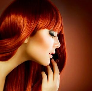 Hair Care Beauty Parlour Artificial Hair Integrations Red Hair PNG