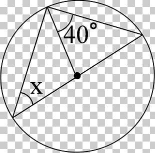 Circle Triangle 数学A Geometric Shape PNG