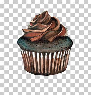 Cupcake Muffin Chocolate Cake Red Velvet Cake Ice Cream Cones PNG