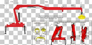 Manipulator Crane Кран-маніпулятор Logging Truck Machine PNG