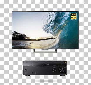 4K Resolution 索尼 Sony Ultra-high-definition Television LED-backlit LCD PNG