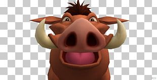 Kingdom Hearts II Pig Video Game Timon And Pumbaa PNG