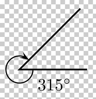 Angle Kąt Skierowany Vertex Geometry Degree PNG