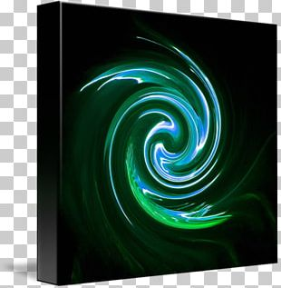 Spiral Vortex Modern Art Circle PNG