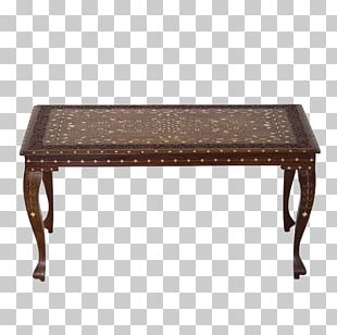 Coffee Tables Inlay Furniture Rosewood PNG