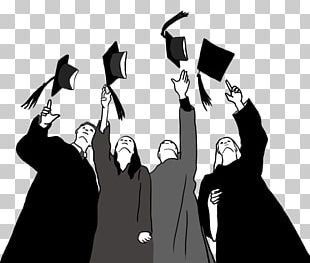 Graduation Ceremony Square Academic Cap Graduate University Drawing PNG