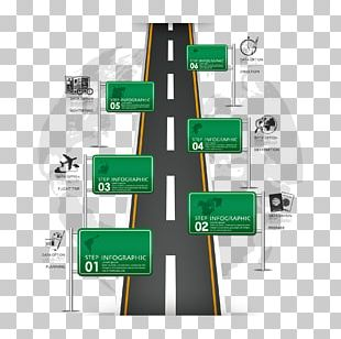 Road Infographic Traffic Sign PNG