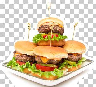 Slider Hamburger Cheeseburger Fast Food Big N' Tasty PNG