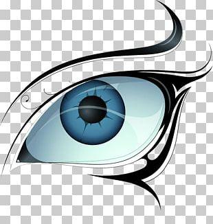Tattoo Eye Vecteur Illustration PNG