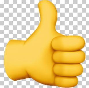 Thumb Signal Emoji Domain Emoticon Emojipedia PNG