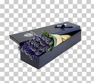 Box Beach Rose Flower Bouquet Gift PNG