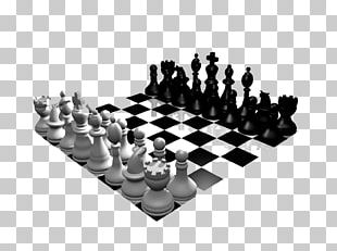 Chess Piece White And Black In Chess King PNG