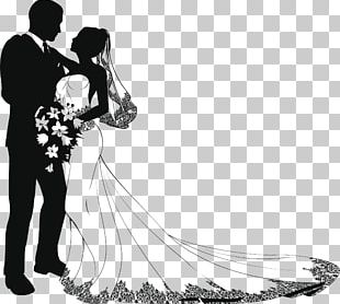 Wedding Drawing Bride PNG