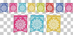 Paper Papel Picado Mexican Cuisine Party PNG