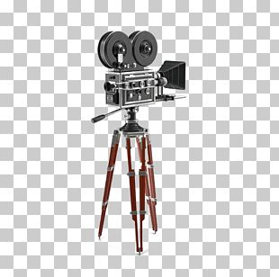 Tripod Photographic Film Movie Camera PNG