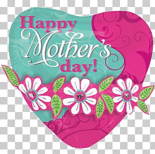 Mother's Day Balloon Mothering Sunday Father's Day PNG