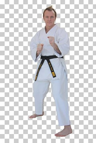 Dobok Karate Aikido Martial Arts Costume PNG