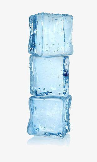 Three Ice Closeup PNG