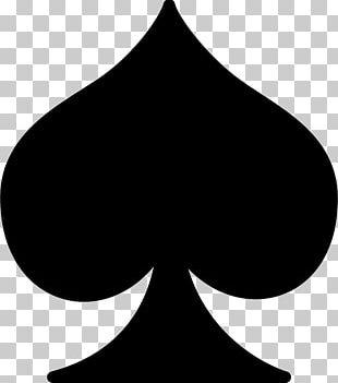 Playing Card Ace Of Spades Suit PNG