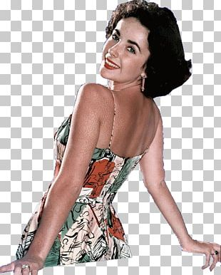 Elizabeth Taylor A Date With Judy Supermodel Photo Shoot PNG