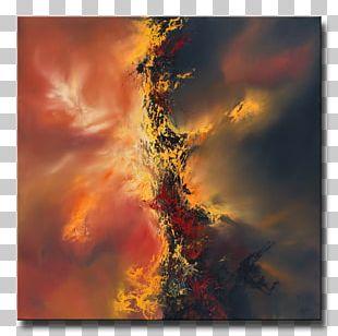 Oil Painting Canvas Art Impasto PNG
