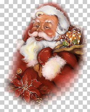 Santa Claus Père Noël Father Christmas Animaatio PNG