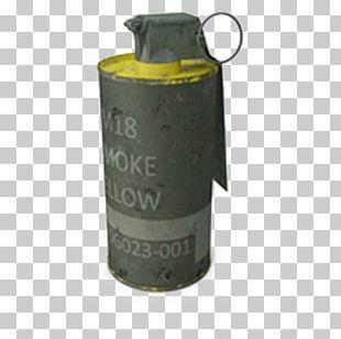 AN M18 Smoke Grenade Smoke Bomb PNG