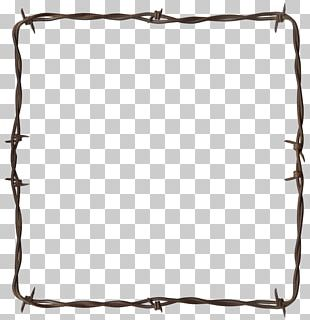 Barbed Wire Frontier Wire Border PNG