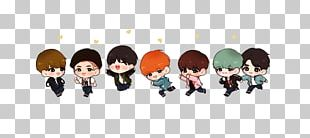 BTS Drawing Fan Art Chibi PNG