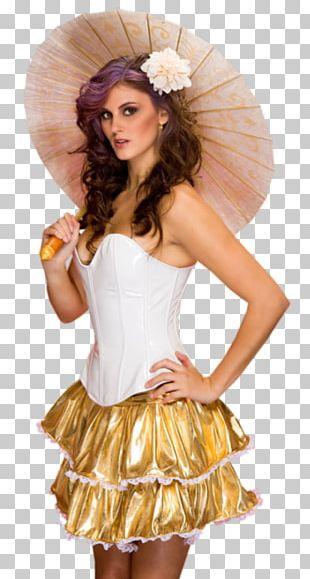 Ombrelle Umbrella Woman PNG