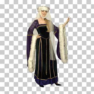 Middle Ages Renaissance Costume Guinevere Woman PNG