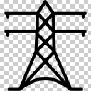 Electricity Transmission Tower Utility Pole Electric Power Electrical Engineering PNG
