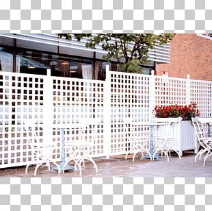 Picket Fence Trellis Pergola Garden PNG