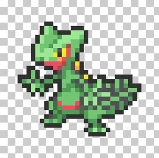 Sceptile Pixel Art Pokémon Omega Ruby And Alpha Sapphire Sprite PNG