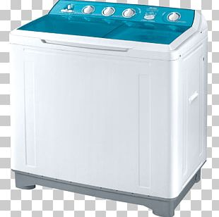 Washing Machines Haier Clothes Dryer Home Appliance Refrigerator PNG