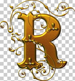 Letter Alphabet Calligraphy Font PNG