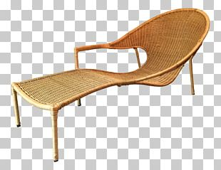 Eames Lounge Chair Chaise Longue Table Wicker PNG