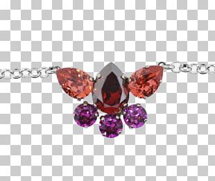 Ruby Body Jewellery Necklace Charms & Pendants PNG