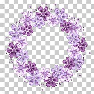 Floral Design Flower Petal Scrapbooking Label PNG